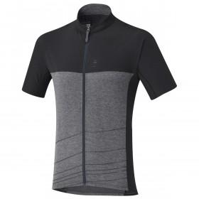 Shimano trail maillot de cyclisme manches courtes raven