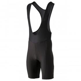 Shimano cuissard de cyclisme court à bretelles noir