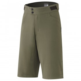 Shimano trail cuissard court olive night