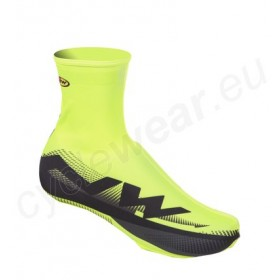 NORTHWAVE Extreme Graphic Shoecover Yellow Fluo