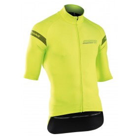 NORTHWAVE Extreme H2O Jacket SS Yellow Fluo