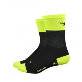 Defeet aireator high top chaussettes de cyclisme Flash