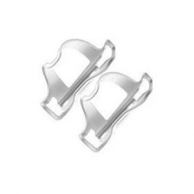 LEZYNE Flow Cage Side Load White (2 Pack)