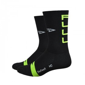 Defeet aireator high top chaussettes full gas