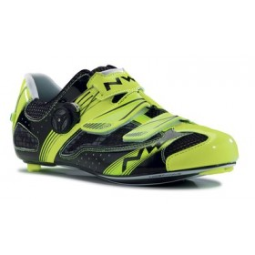 NORTHWAVE Galaxy Race Fietsschoen Yellow Fluo Black