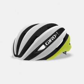 Giro synthe mips casque de vélo mat citron jaune blanc