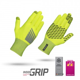 Gripgrab primavera hi-vis gant de cyclisme jaune