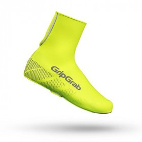 GripGrab ride hi-vis waterproof couvre chaussure fluo jaune