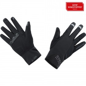 Gore bike wear power windstopper gant de cyclisme noir
