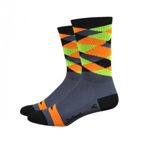 Defeet aireator high top chaussettes mango