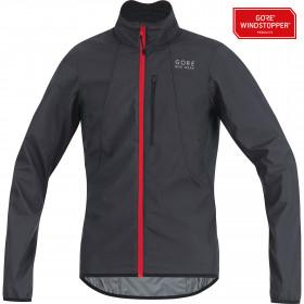 Gore bike wear E windstopper soft shell veste de cyclisme marron noir