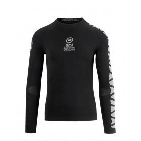 Assos skinfoil spring/fall evo 7 vêtement manches longues noir