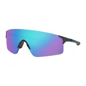 Oakley evzero blades fietsbril steel - prizm sapphire lens