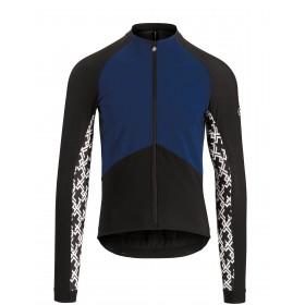 Assos mille gt spring/fall veste de cyclisme caleum bleu