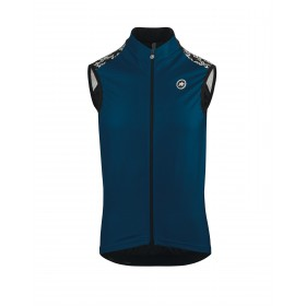 Assos mille GT spring/fall gilet caleum bleu