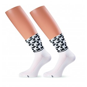 Assos monogram evo 8 chaussettes blanc