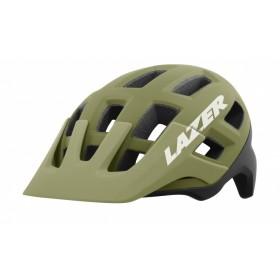 Lazer coyote VTT casque de cyclisme khaki mat orange