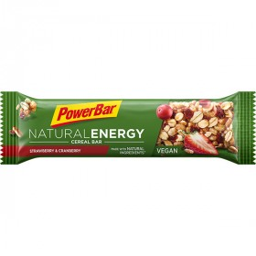 Powerbar natural energy cereal reep strawberry & cranberry 40g