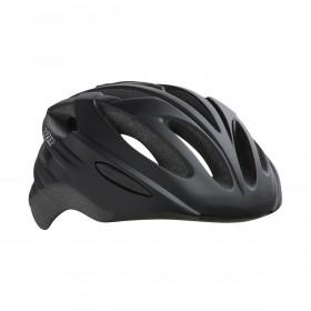 Lazer neon casque de vélo noir mat (y compris l'écluse à cappuccino et le filet à insectes)