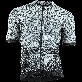 Uyn alpha maillot de cyclisme manches courtes white/black