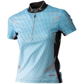 AGU Perris Lady Shirt KM Aqua/Black