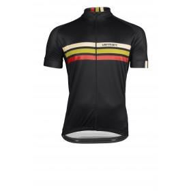 Vermarc prestige maillot de cyclisme manches courtes noir