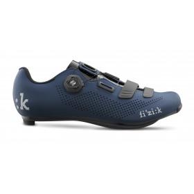 Fizik R4 boa chaussures route bleu noir