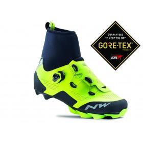Northwave raptor GTX chaussures vtt jaune fluorescent