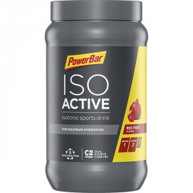 Powerbar isoactive isotone sportdrank red fruit punch 600g