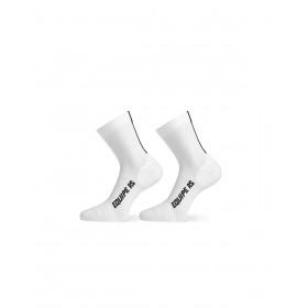 Assos rs chaussettes de cyclisme holy blanc