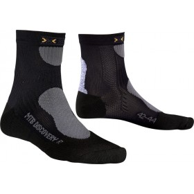 X-Socks mountain biking discovery chaussettes noir