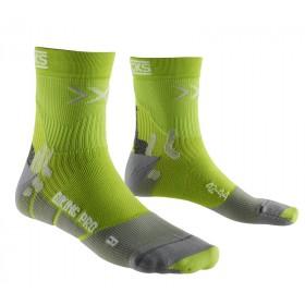 X-Socks biking pro chaussettes vert gris