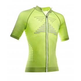 X-BIONIC Effektor Biking Power Shirt SS Green Lime Pearl Grey