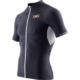 X-BIONIC The Trick Biking Shirt SS Black White