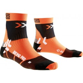 X-Socks biking pro chaussettes orange noir