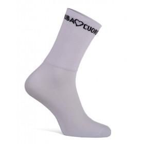 RUBA CUORE Corsa Sock White