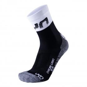 UYN cycling light chaussettes de cyclisme noir blanc