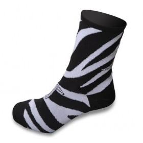 Shebeest Zebra Lady Sok Black White