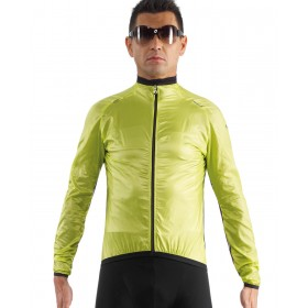 ASSOS sJ.BlitzFeder Shell Long Sleeve Safety Yellow