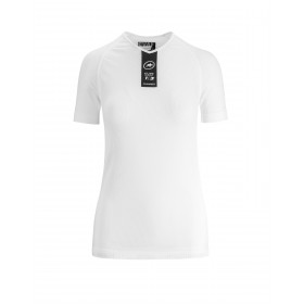 Assos skinfoil summer sous-vêtement manches courtes holy blanc