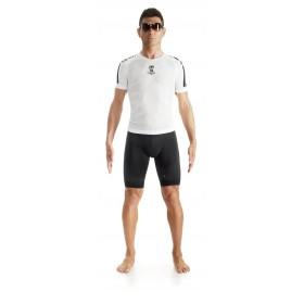 Assos skinfoil hotSummer evo 7 vêtement manches courtes blanc