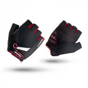 GripGrab supergel gants de cyclisme noir rouge