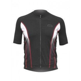 ULTIMA INDOOR Shirt Km Lr Zwart Rood
