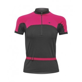 ULTIMA INDOOR Shirt Km Lady Zwart Roze