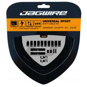 JAGWIRE Universal Sport Shift Kit Black