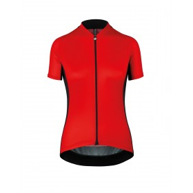 Assos campionissimo uma GT maillot de cyclisme manches courtes femme caleum rouge