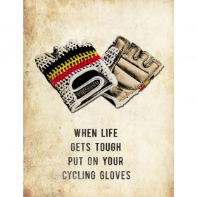 The vandal Cycling Gloves Postkaart