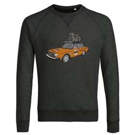 The Vandal Molteni Team Car Sweater Dark Grey