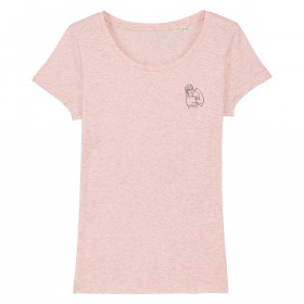 The Vandal We Can Do It T-Shirt Pink