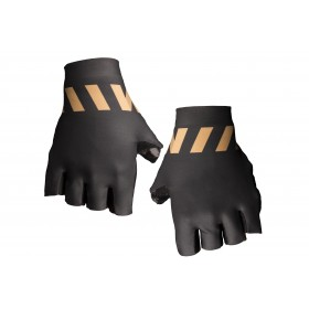 Vermarc winn gant de cyclisme noir or